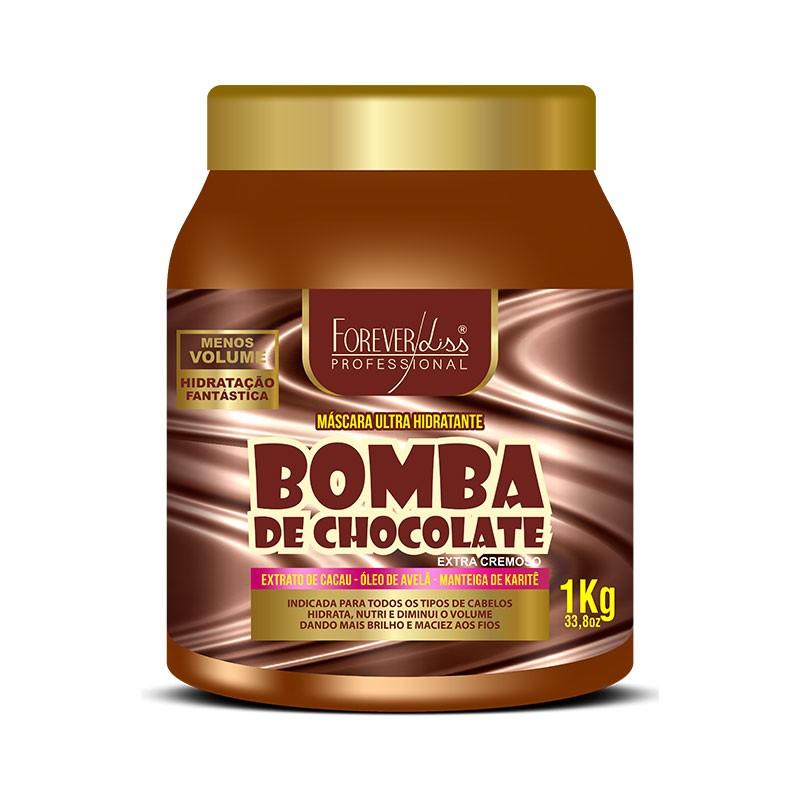 Forever Liss Máscara Bomba de Chocolate 1kg