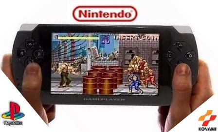 Gamer Portátil jogos Nes Nintendo Sega Gba Mp3
