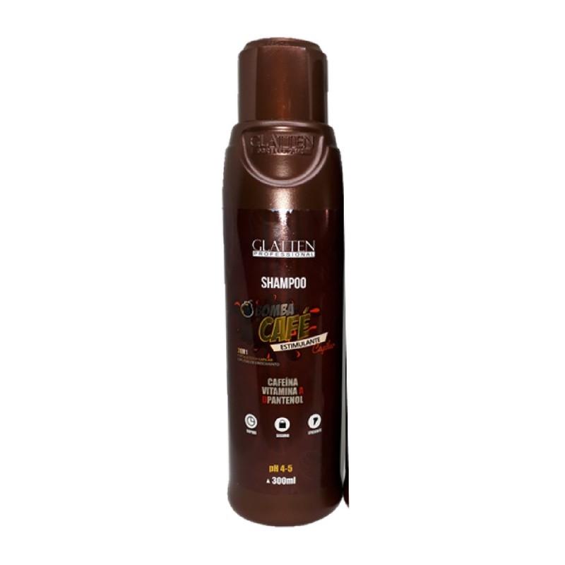 Glatten Bomba de Café Shampoo 300ml