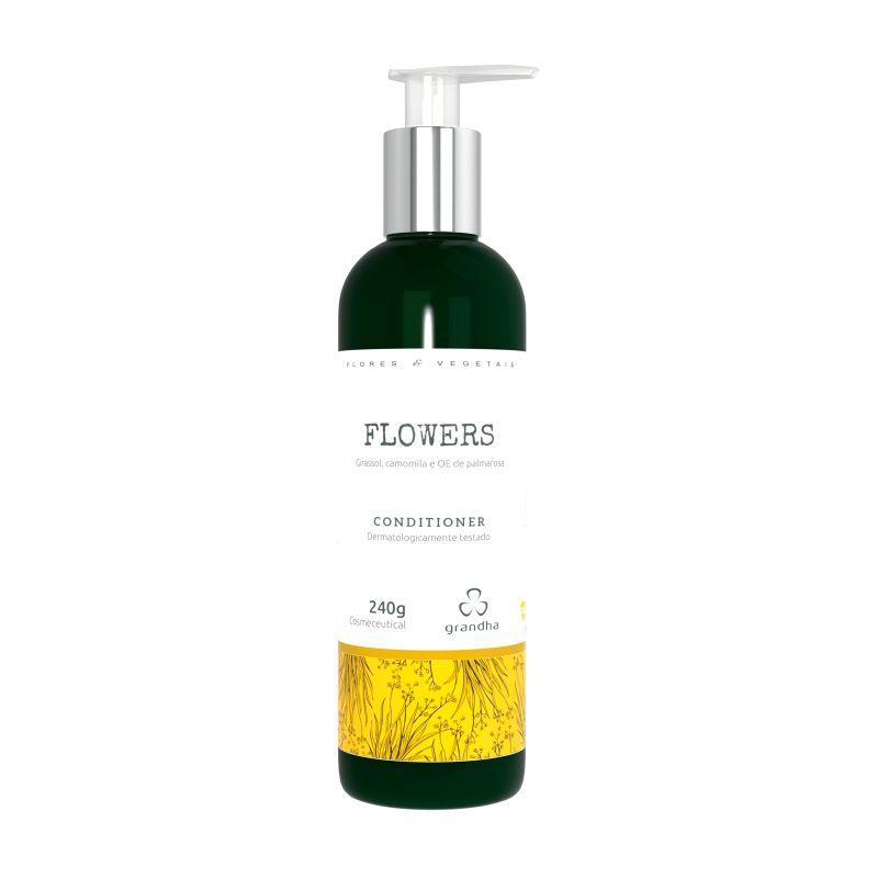 Grandha flowers Flores e Vegetais Condicionador terapia capilar 240g