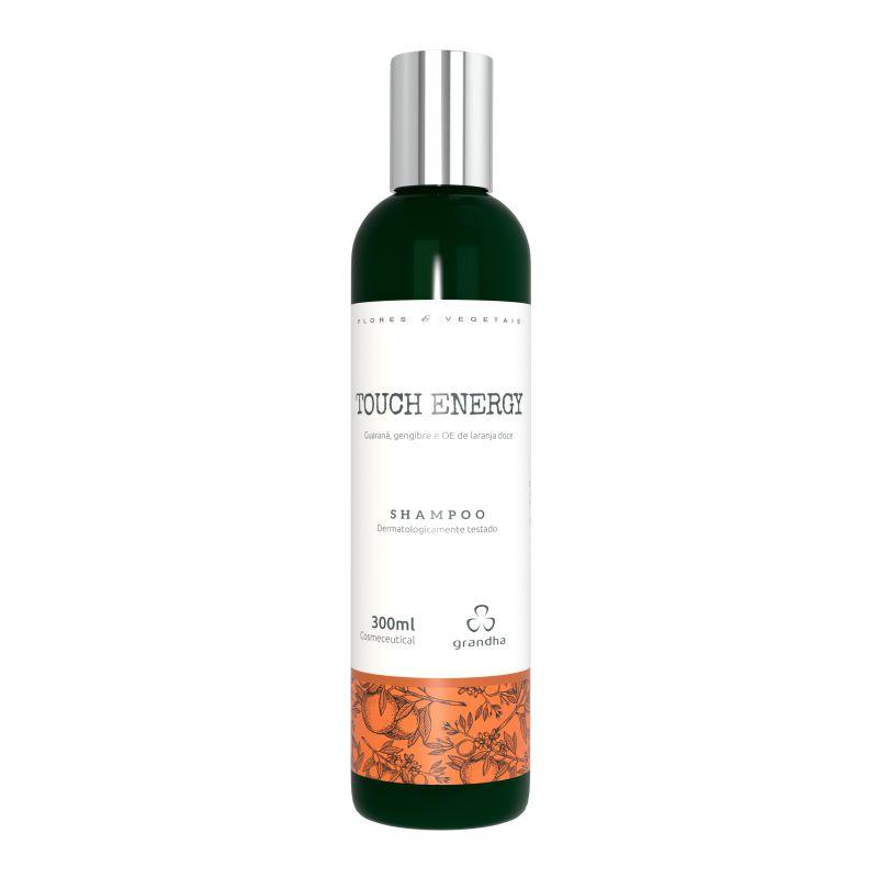 Grandha Touch Energy Flores e Vegetais Shampoo terapia capilar 300g