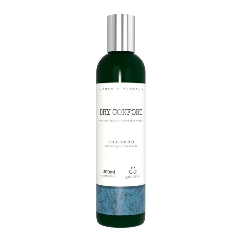 Grandha Dry Confort Flores e Vegetais Shampoo 300ml
