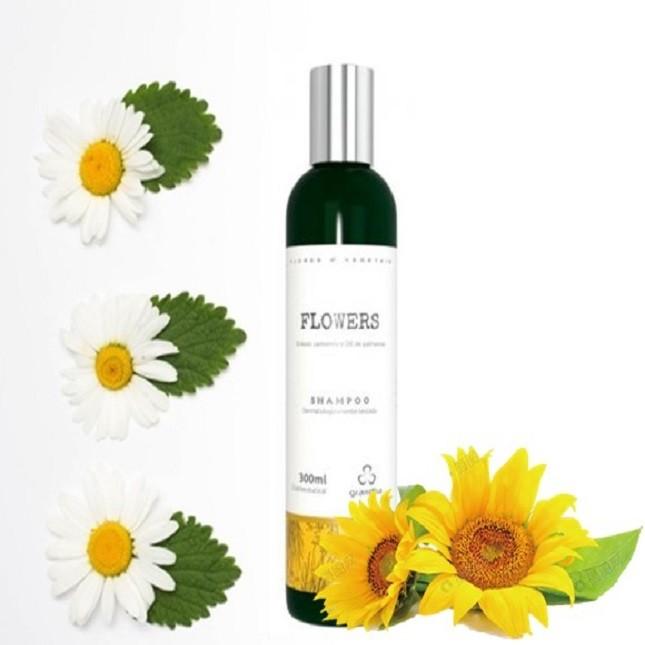 Grandha Flowers Shampoo Flores e Vegetais Com 2 Unidades