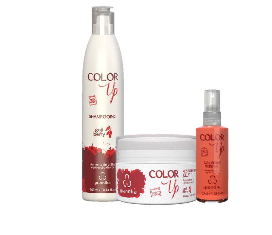 Grandha Kit Color Up Goji Berry Completo