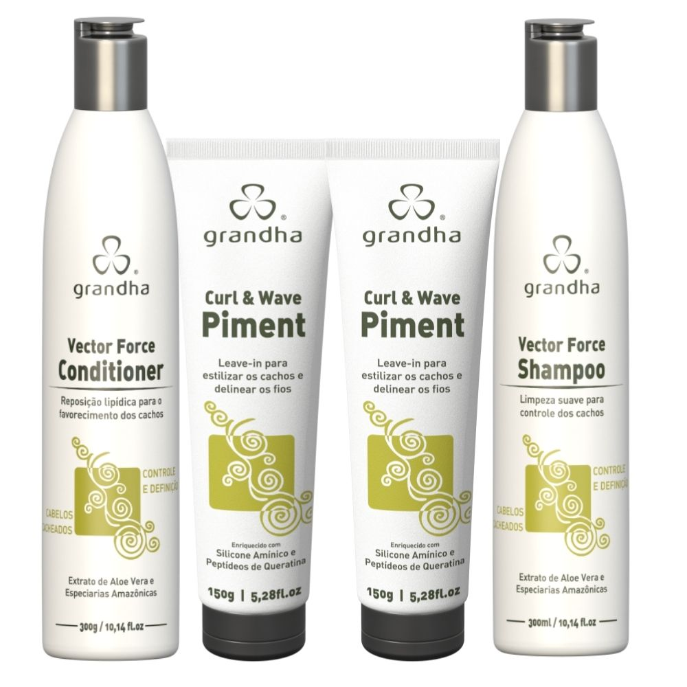 Grandha Kit Vector Shampoo Cond 2 Piment
