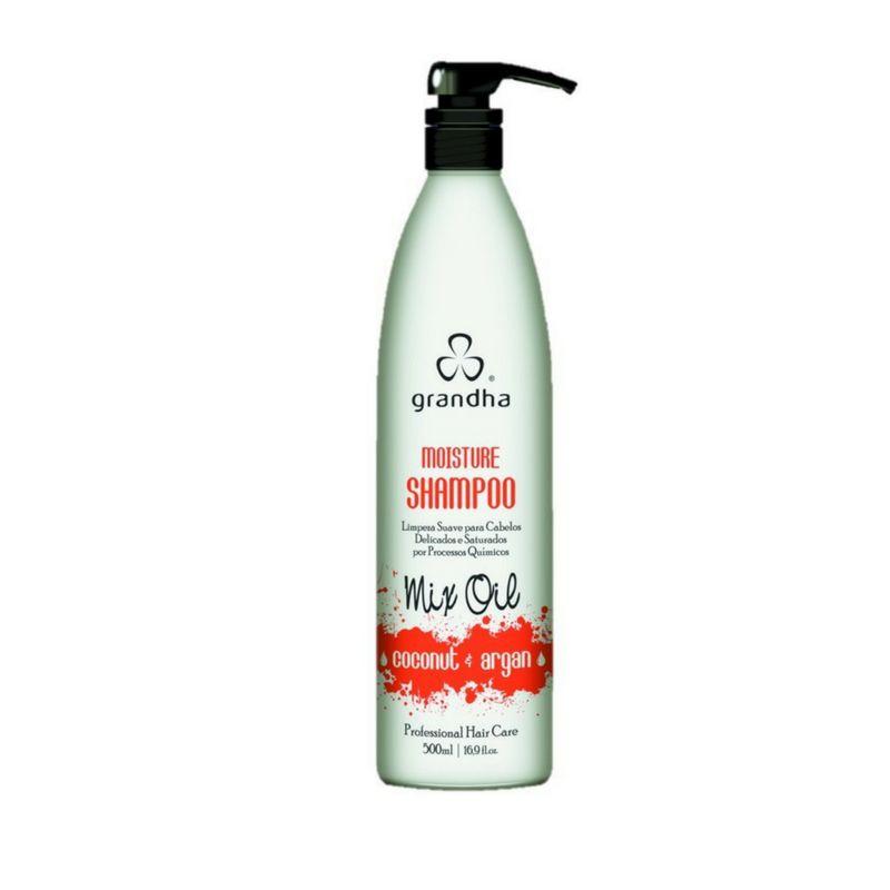Grandha Moisture Shampoo Coconut e Argan 500ml