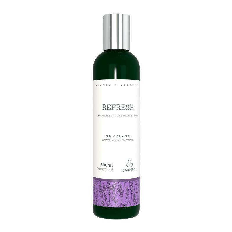 Grandha Refreshing Flores e Vegetais Shampoo 300ml