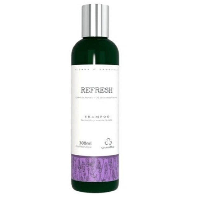 Shampoo Grandha  Refresh Flores e Vegetais 300ml