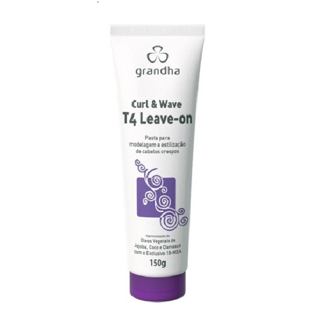 Grandha T4 Curl & Wave Vector Force Leave-on 150g