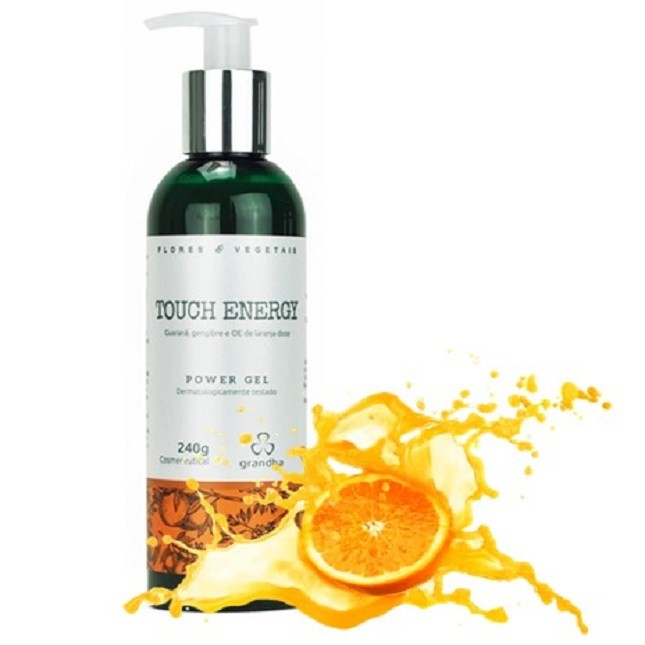 Grandha Touch Energy 2 Shampoo 1 Power Gel