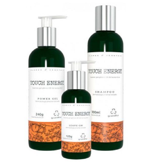 Grandha Touch Energy  Flores e Vegetais Power Gel Shampoo Leave on