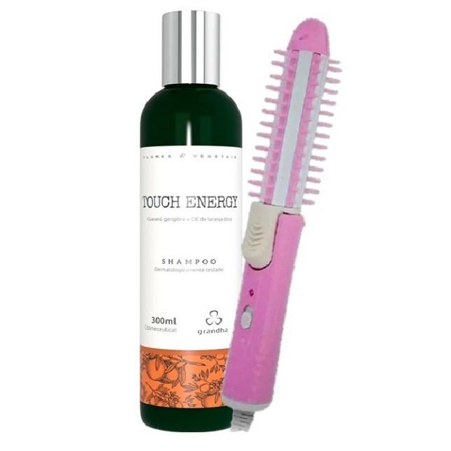 Grandha Touch Energy Shampoo e Escova