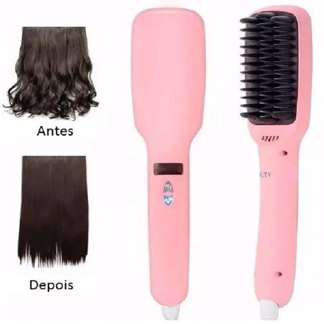 Grandha Urbano Spa Hair Therapy Kit Completo + Escova Alisadora Heating 2 em 1