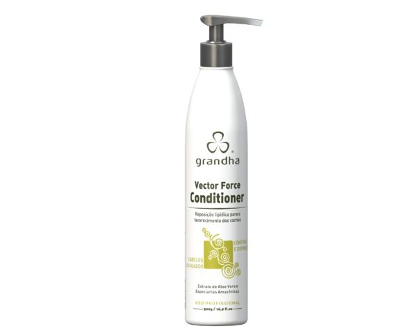 Grandha Vector Force Condicionador para Cachos Low Poo 500ml