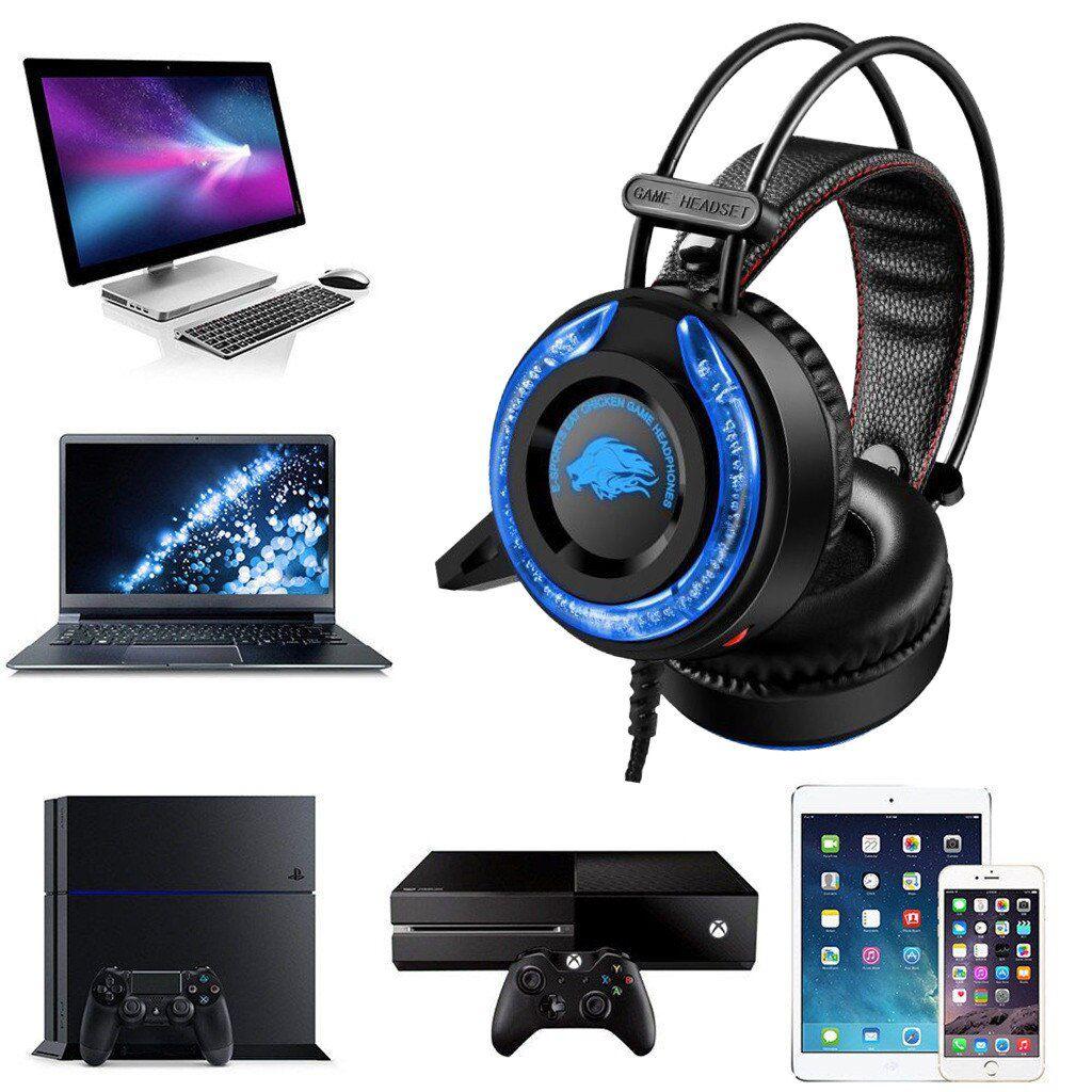 Headphone Gamer Profissional Epula A5 Som Estéreo Lançamento