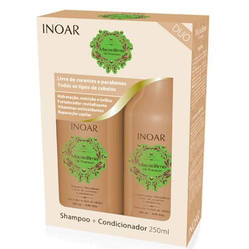 Inoar Kit Duo 250ml Macadamia