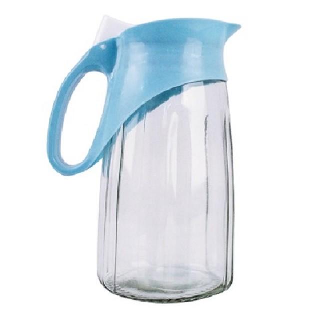 Jarra de Vidro Suco Água 1,2L