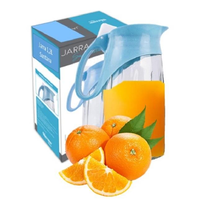 Jarra de Vidro Suco Água Bebidas 1,2L
