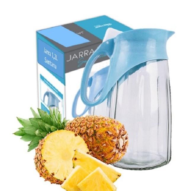 Jarra de Vidro Suco Água Bebidas Western 1,2L