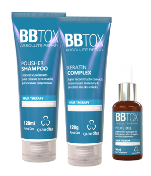 Kit Botox Absolute Repair Grandha Pós Progressiva