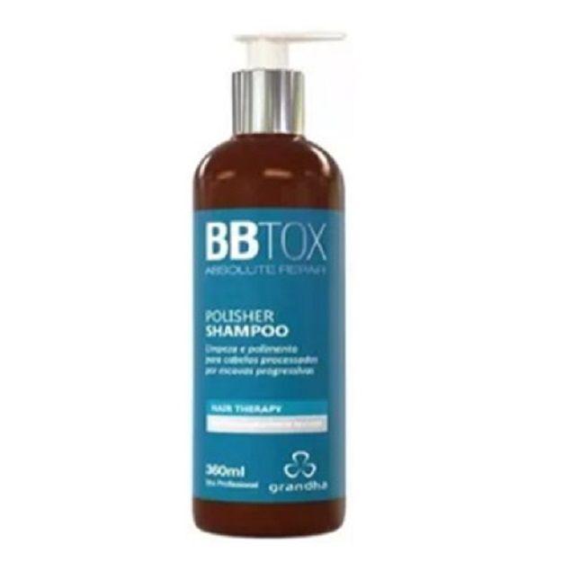 Kit Botox Grandha Pós Progressiva + Escova Alisadora Bivolt