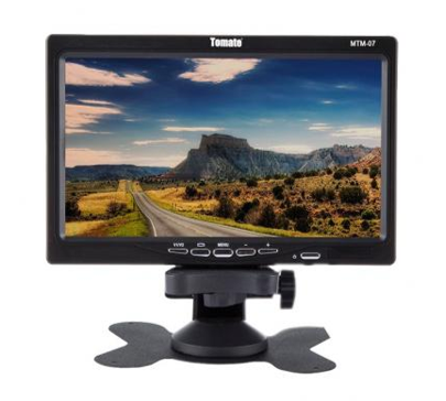 Kit Camera De Ré Visão traseira com Monitor 7 Polegadas LCD automotivo