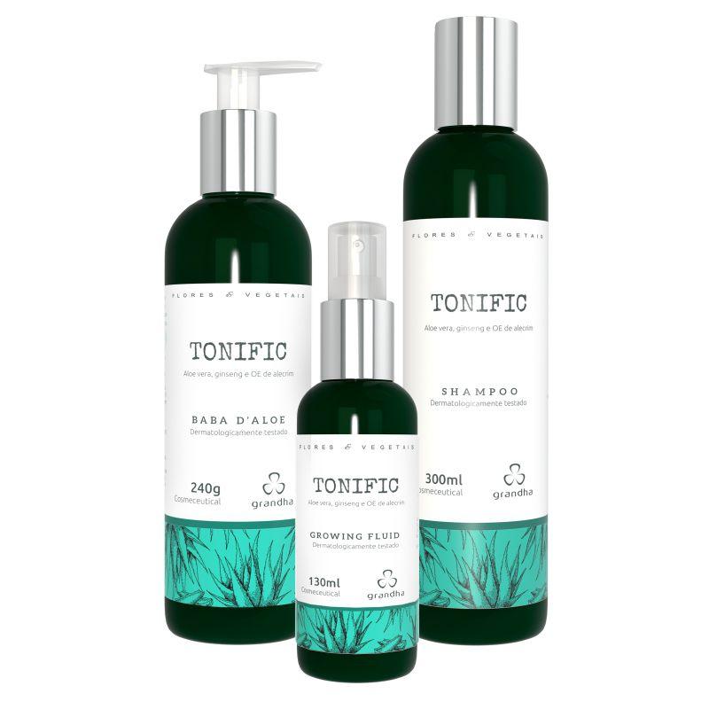 Kit Completo Grandha Tonific Flores e Vegetais