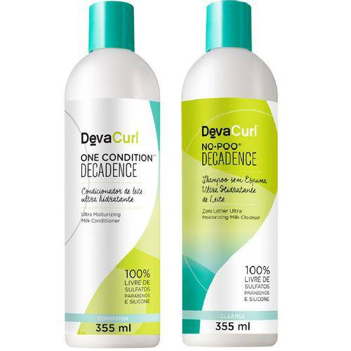 Kit Deva Curl Decadence - No-poo + One Cond 355ml