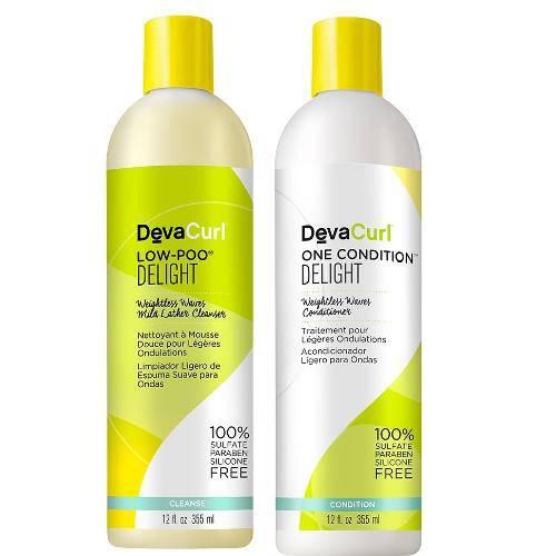 Kit Deva Curl Low-Poo E One Condition Delight 355 ml