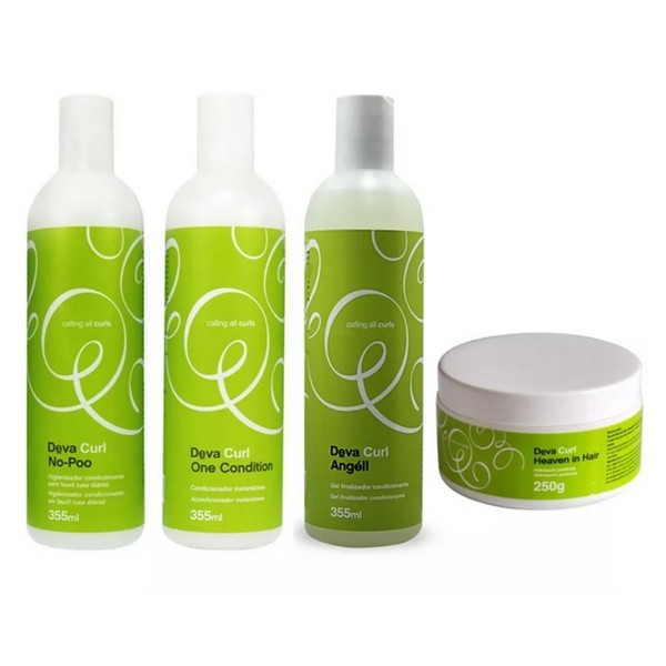 Kit Deva Curl No Poo, One, Angell e Heaven