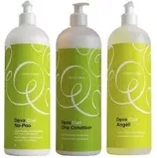 Kit Deva Curl No Poo One e Angell 1 Litro cada