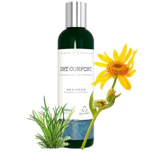 kit-dry-confort-flores-e-vegetais-grandha-terapia-capilar + Secador Kemei 6832