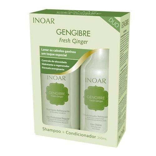 Kit Duo Inoar Gengibre Shampoo e Condicionador 250ml