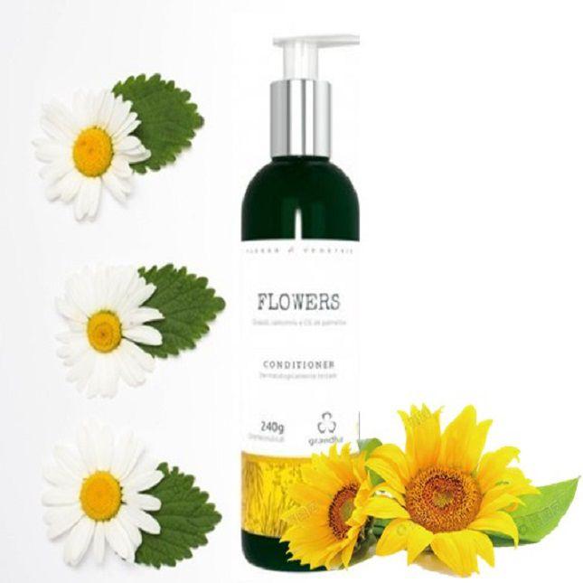 Kit Grandha Flowers Flores e Vegetais + Secador Dobrável KM 6832