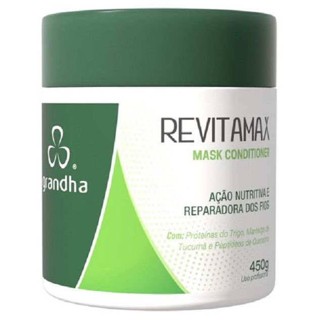 Kit Grandha Revitamax Máscara Shampoo Leave-in