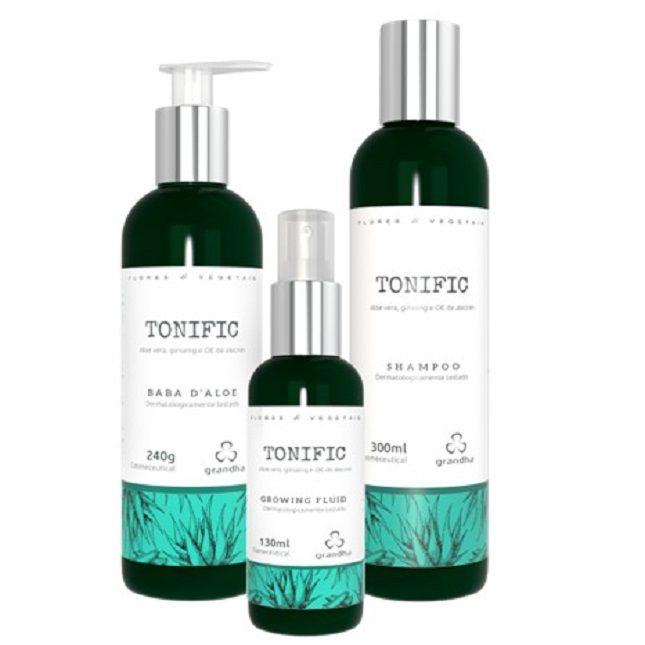 Kit Grandha Tonific Flores e Vegetais