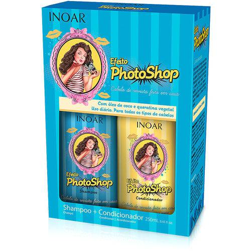Kit Inoar Efeito Photoshop Shampoo e Condicionador 250ml