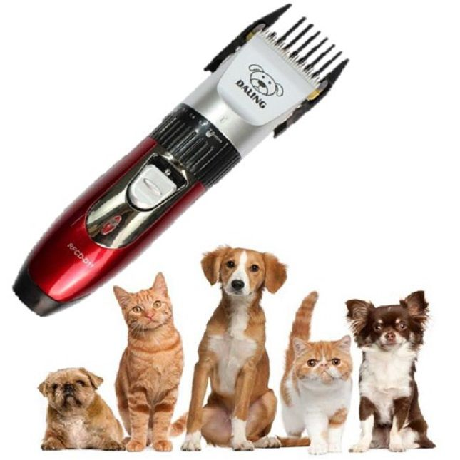 Kit Maquina De Tosa Cachorro Daling Professional Pet Clipper RFCD D11