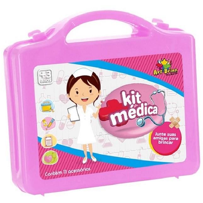 Kit Médica Dra. Rosa Com 11 Acessórios