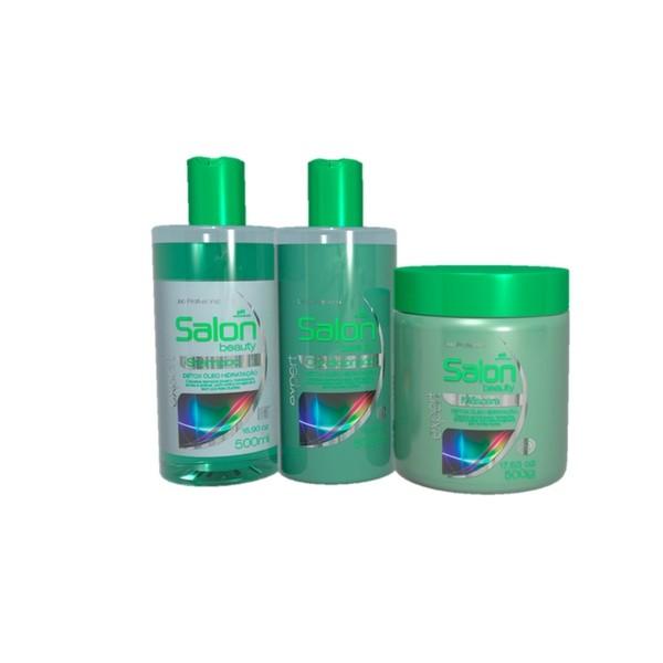 Kit Salon Beauty Detox Óleo de Hidratação