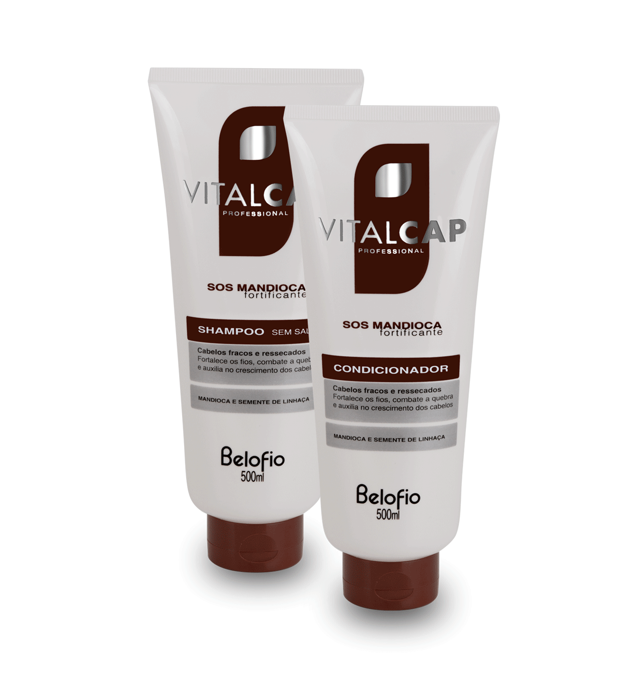 Kit Shampoo e condicionador 500ml VITALCAP