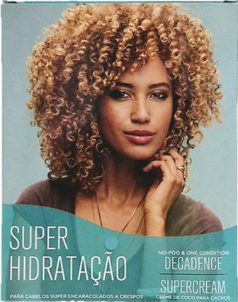 Kit Deva Curl Super Curly Hidratação Decadence 120ml