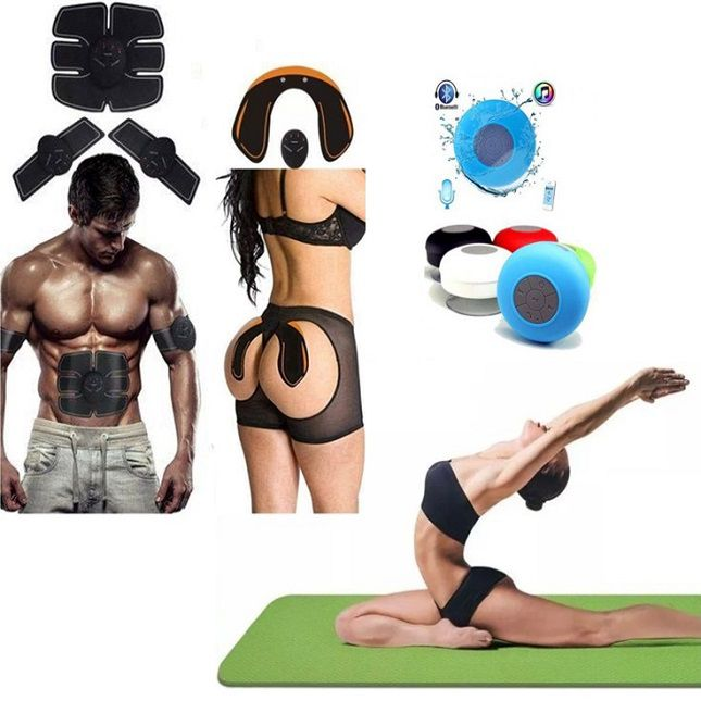 KIT Tonificador Muscular  + Tapete Yoga + Caixa Bluetooth