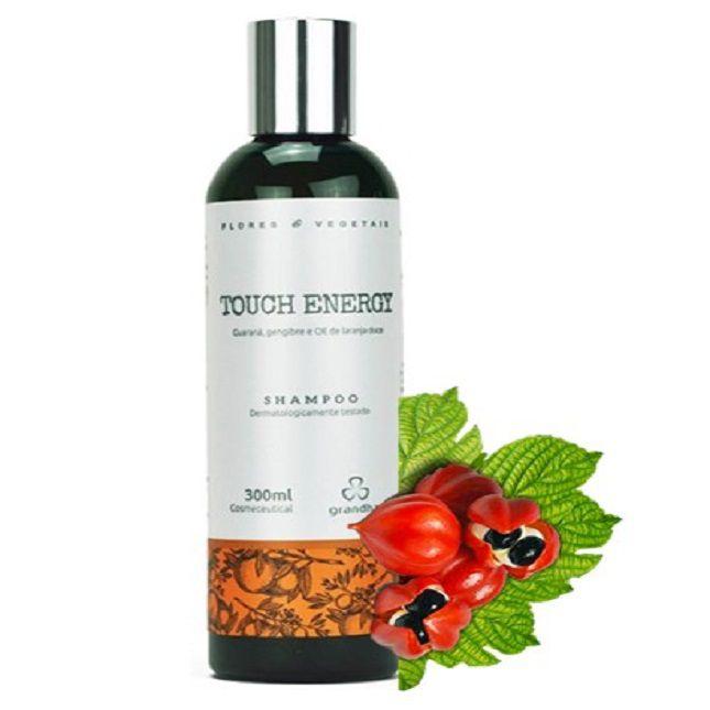 Kit Touch Energy Grandha  Flores e Vegetais Power Gel Shampoo Leave on