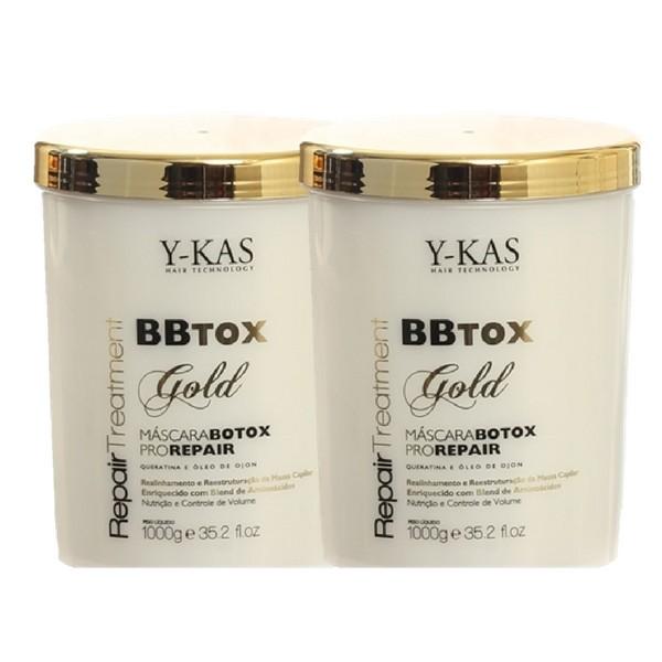 Kit Ykas Botox Capilar Pro Repair Máscara 1K