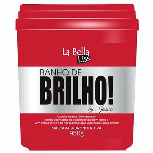 La Bella Liss Banho De Brilho Máscara Hidronutritiva - 950g