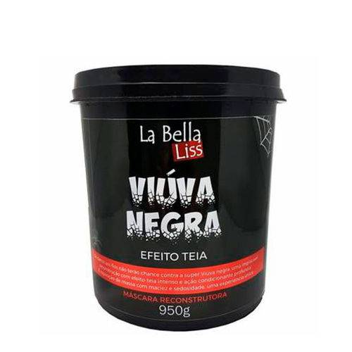 La Bella Liss Viúva Negra Máscara Reconstrutora Efeito Teia 950g