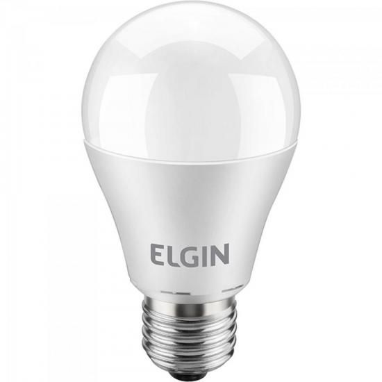 Lâmpada LED Bulbo Power 6W 6500K A60 Branca ELGIN