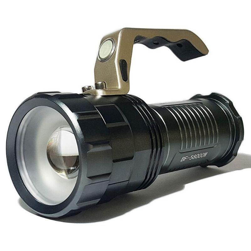 Lanterna Led Holofote Muito Forte Bmax 8806
