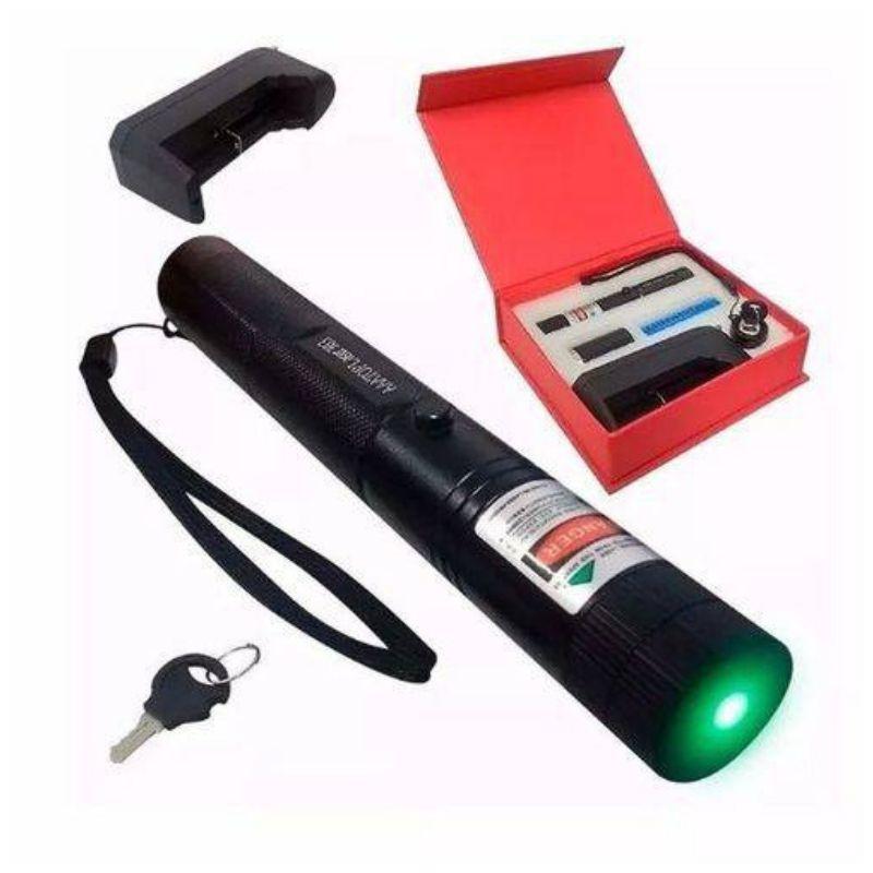 Lanterna Super Caneta Laser Pointer 98000mw 40km